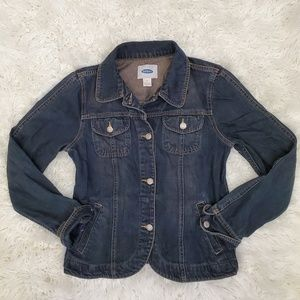Old Navy Structured Jean Jacket Denim Blazer
